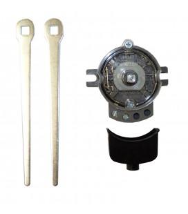 Interruptor 1 contacto - 2 Palancas metálicas