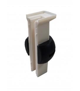 Guarnicion en Arnitel (Wulkollan) con rotula para deslizadera 9129BNGP, 9129BNGW