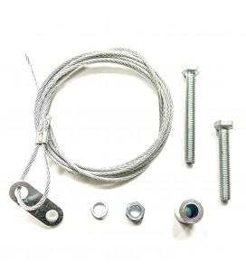 Cable apertura desde foso para cerraduras mecánicas