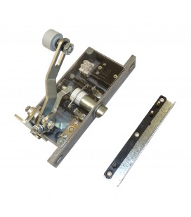 Cerradura seguridad tipo 103 marcos estrechos roldana 22 mm
