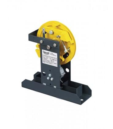 Limitadores de velocidad con base estrecha y forros para el paso de los cables 81/84