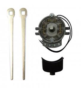 Interruptor 3 contactos independientes - 2 Palancas metálicas
