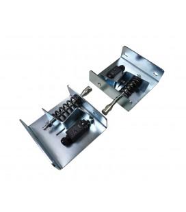 Tensores horizontales para limitadores de velocidad enbarque en cabina