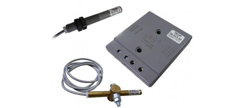 Interruptores accionados por imanes