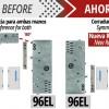 La cerradura de seguridad modelo 96EL eléctrica, ahora tiene mano