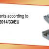 Componentes de seguridad acorde con la directiva 95/16/CE