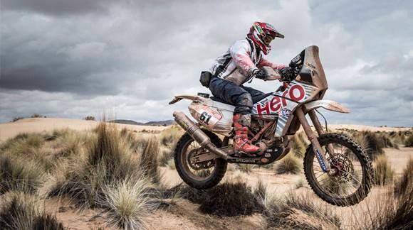 Gervall en el Dakar 2018